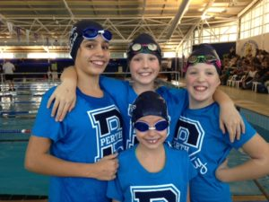 Girls free relay