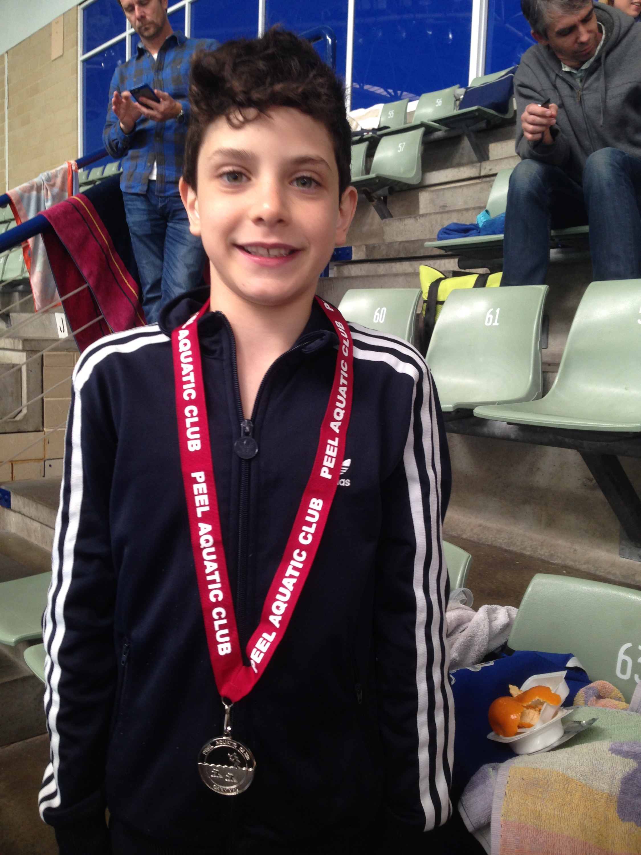 Gianluca takes out the first of Perth City trophy swims