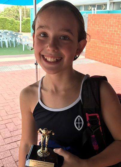 Kiera Hughes dominates Perth College Junior School House Carnival